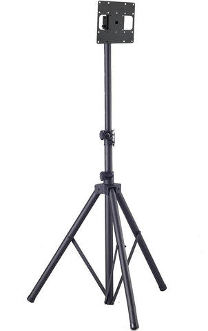 "TR940 Tripod Portable and Mobile TV Floor Stand w/ VESA Mounting Bracket Universal Mobile Stand for 19"", 23"", 27"", 32"", 37"" LCD/LED Monitors and TVs"
