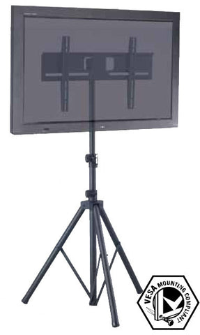 "TR941 Tripod Portable TV Floor Stand w/ VESA Mounting Bracket Universal for 32""-51"" LCD/LED/Plasma TVs"