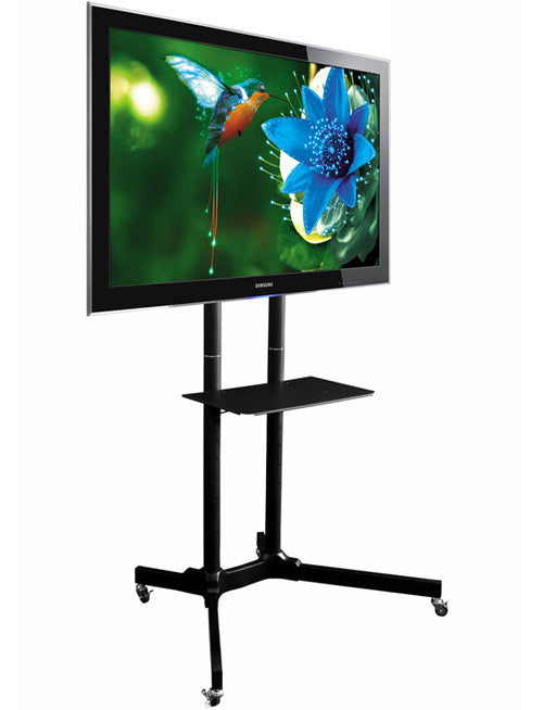 Exhibition Stand Tv : Tt mobile tv floor stand for quot to plasma led lcd