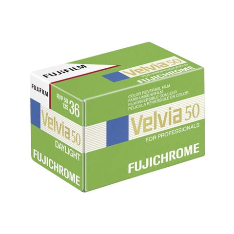Fuji Velvia 50 RVP 35mm 36 Exposures ISO 50 Color Slide (pack size Options)