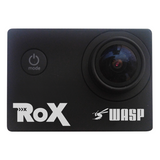 "Waspcam ROX 9942 Sports Action Camera 4K Ultra HD Cam, 30m Waterproof, WiFi, 2"" LCD, 170° Wide Angle, Remote Control APP"