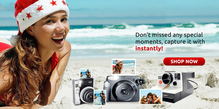 instant cameras, instant films, bundle deals, Fujifilm, Polaroid, Impossible