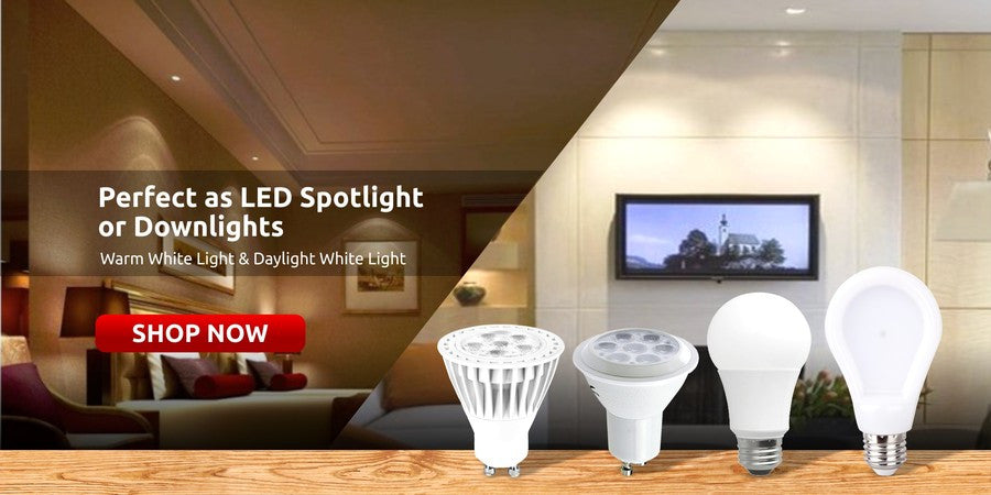 Allcam LED  Light Bulbs Standard or Dimmable