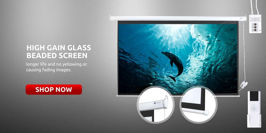 Projection Screen for HD / 3D home cinema projector