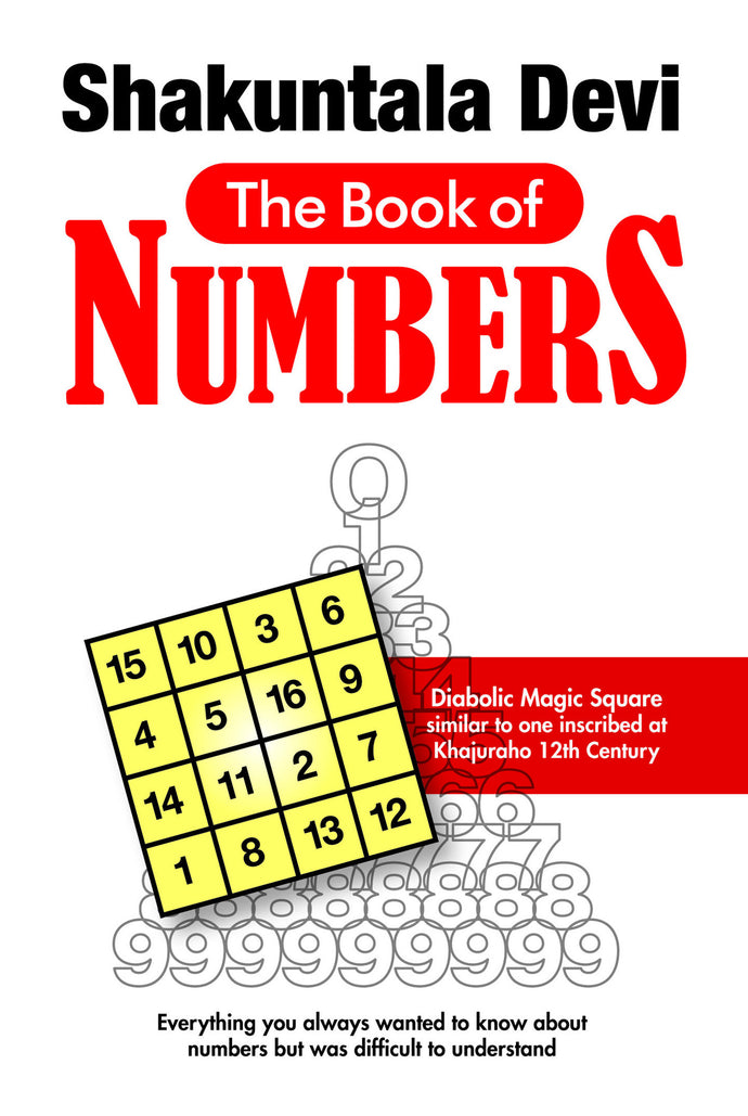 Book of Numbers - Book Published by Orient Paperbacks