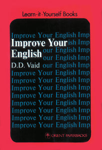 Improve Your English - Book Published by Orient Paperbacks