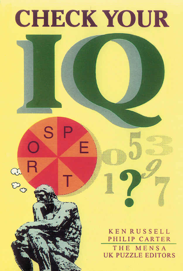 Check Your IQ - Book Published by Orient Paperbacks