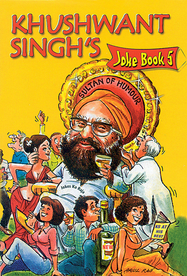 Khushwant Singh's Joke Book 5 - Book Published by Orient Paperbacks