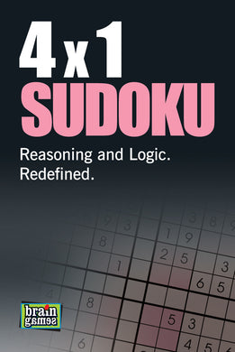 4 x 1 Sudoku - Book Published by Orient Paperbacks