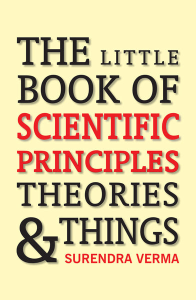 Little Book of Scientific Principles, Theories and Things - Book Published by Orient Paperbacks