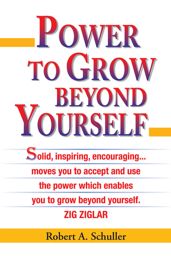 Power to Grow Beyond Yourself - Book Published by Orient Paperbacks