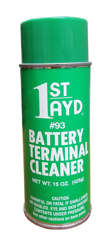 1st Ayd Battery Terminal Cleaner Case 15 oz. can (12 Cans)
