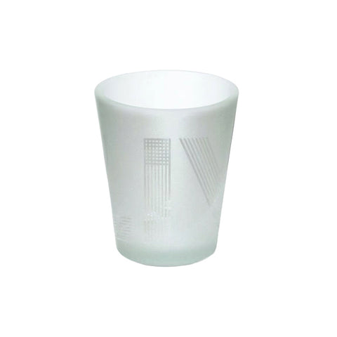 LIV frosted shot glass