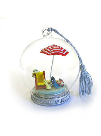 Memory Globe Christmas ornament