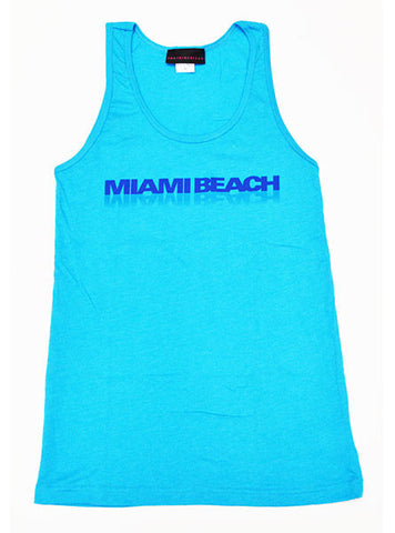 Neon Miami Beach Tank Top