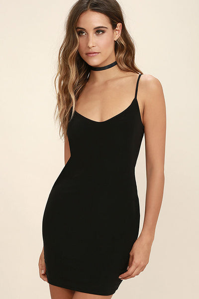 Tina Seamless Camisole Dress - Assorted Colors - Vixen Boutique