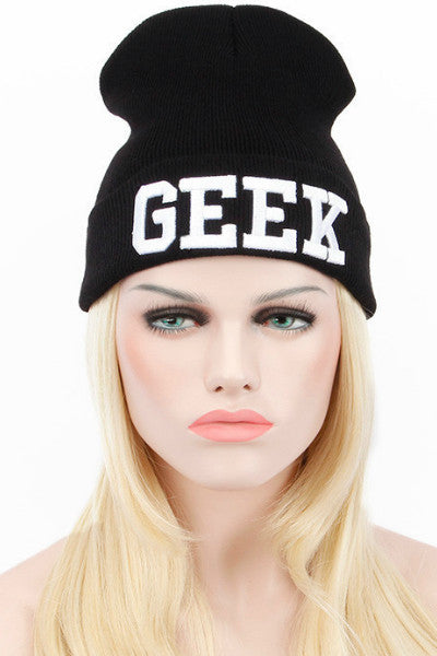 Geek Skully - Black - Vixen Boutique