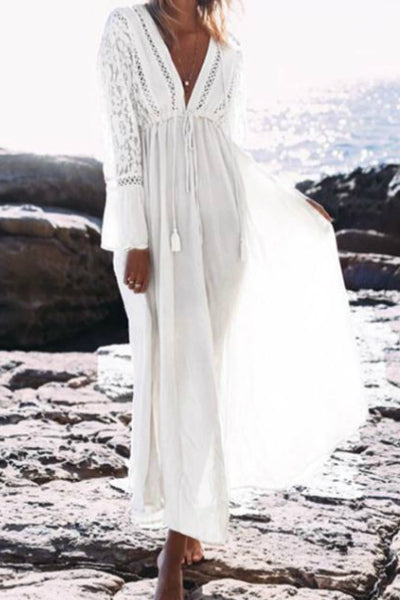"'Simple Things"" Maxi Dress - White (Estimated Arrival 2/26/19)"
