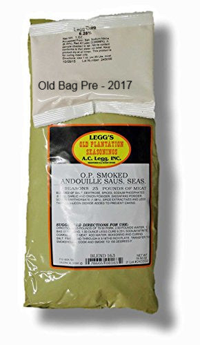 A.C. Legg Smoked Andouille Sausage Seasoning. Blend #163