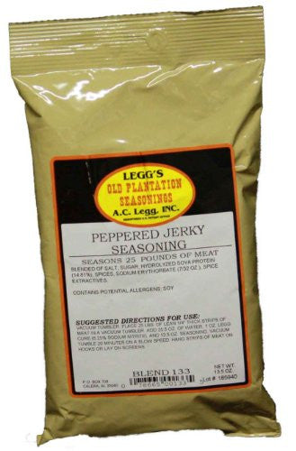 A.C. Legg Peppered Jerky Seasoning. Blend #133