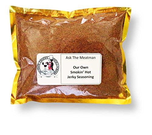 Ask The Meatman S Own Smokin Hot Jerky Seasoning Blend