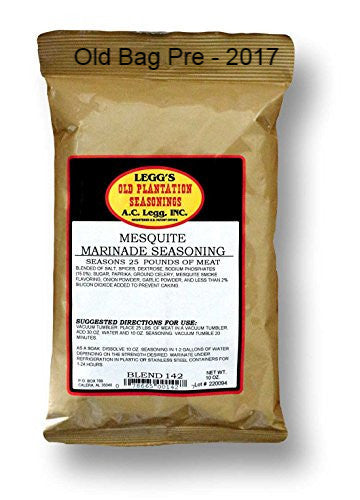 A.C. Legg Mesquite Marinade Seasoning. Blend #142