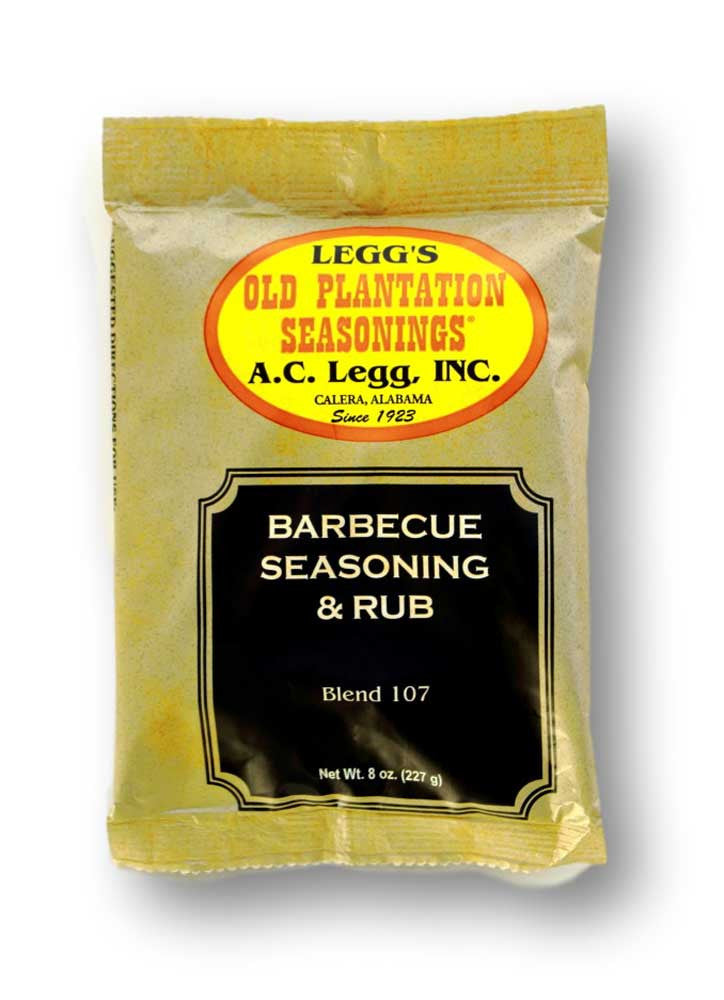 A.C. Legg Barbecue Seasoning and Rub. Blend #107