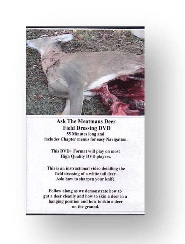 DVD Deer Skinning/Gutting