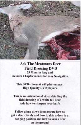 Video Download or Streaming:  Deer Skinning/Gutting