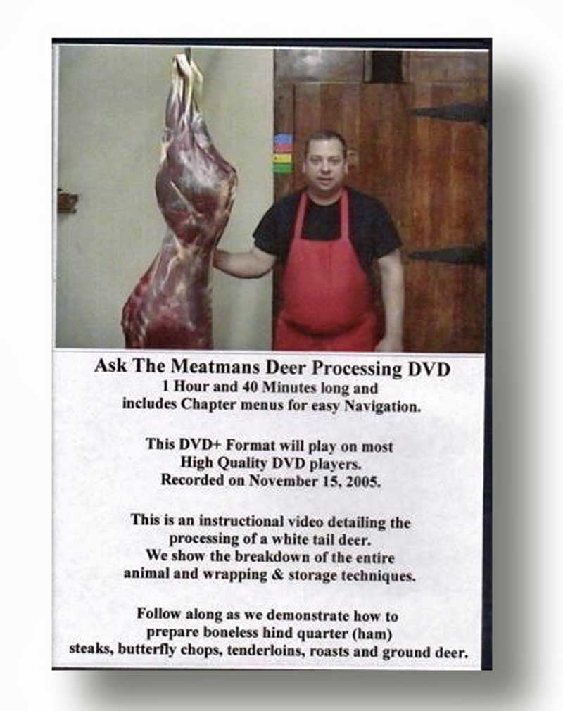 DVD Deer Processing
