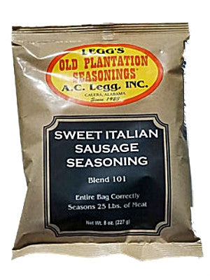 A.C. Legg Sweet Italian Sausage Seasoning. Blend #101