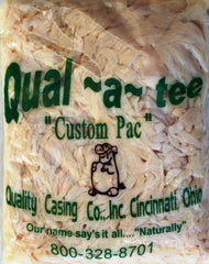Natural Hog Casings. Hank Size. Stuffs 100 to 125 Lbs. Of Meat.  Quality Brand