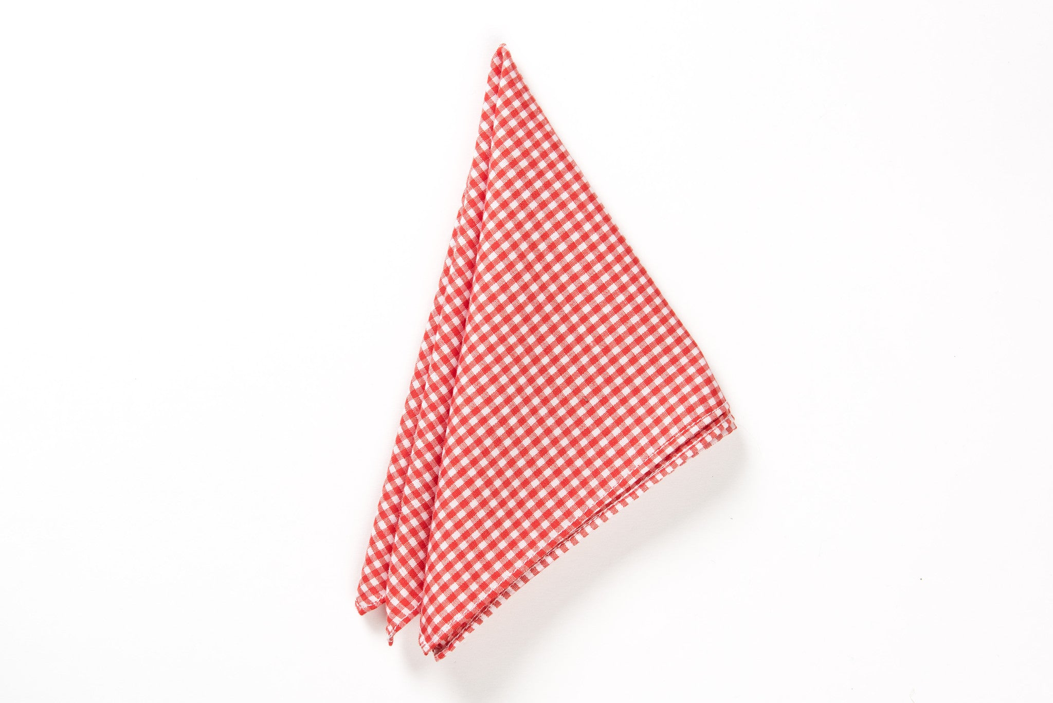 Red coton pocket square