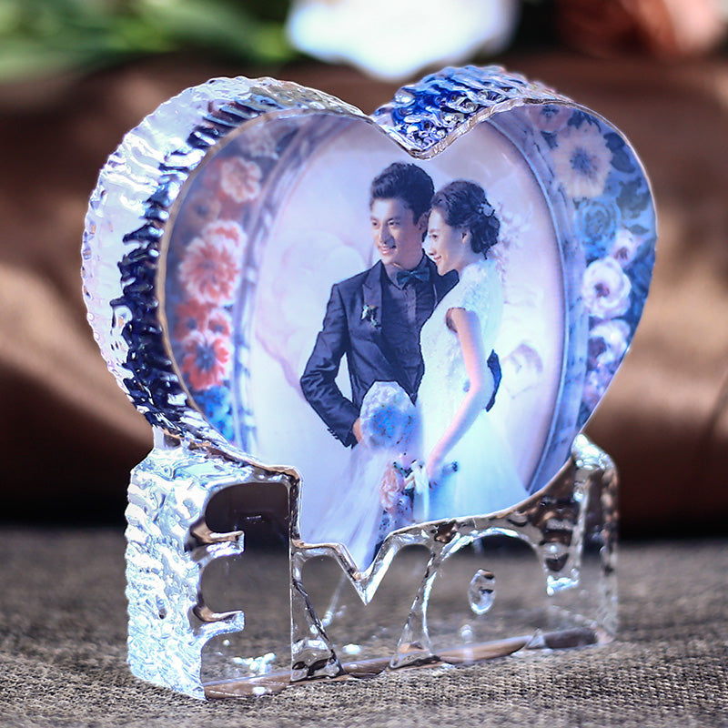 Personalized Crystal Glass