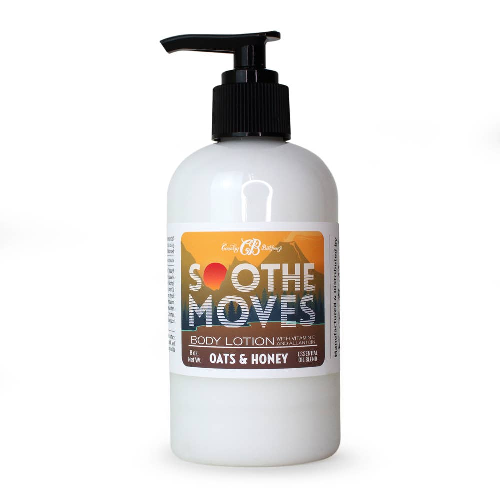 Soothe Moves Body Lotion - Oats and Honey