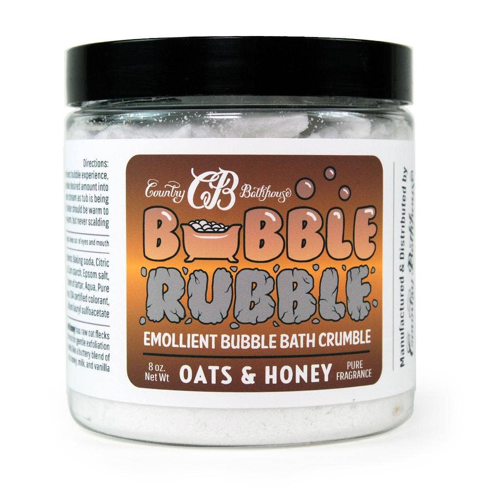 Bubble Rubble - Oats and Honey