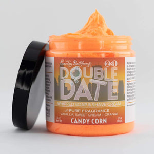 Double Date Whipped Soap and Shave - Candy Corn