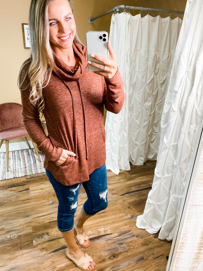 Elliana Draw String Top with Pockets