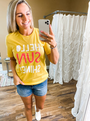 Hello Sunshine Graphic Tee