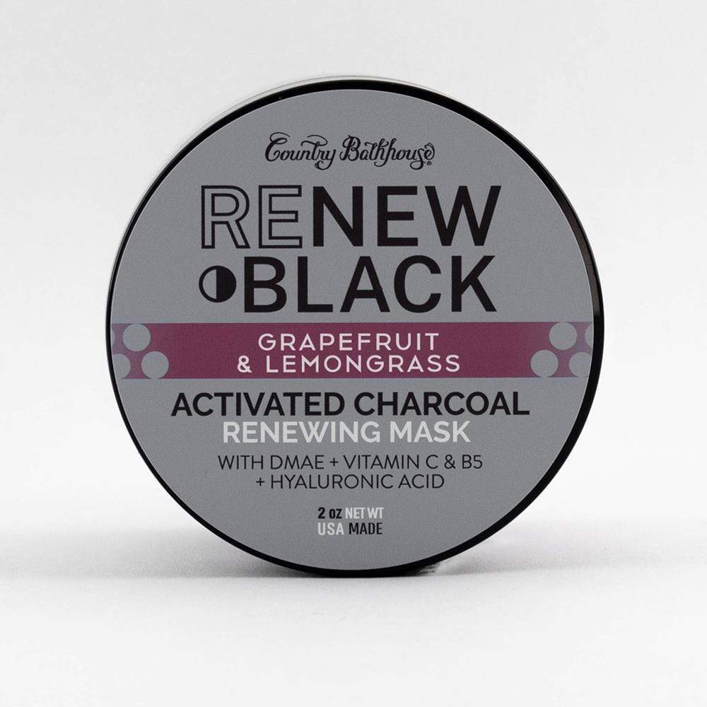 ReNew Black Activated Charcoal Mask - Grapefruit and Lemongrass