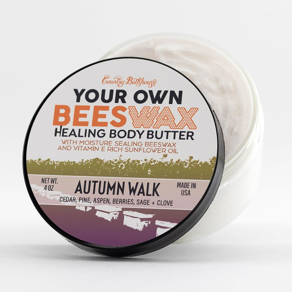 Your Own Beeswax Body Butter - Autumn Walk
