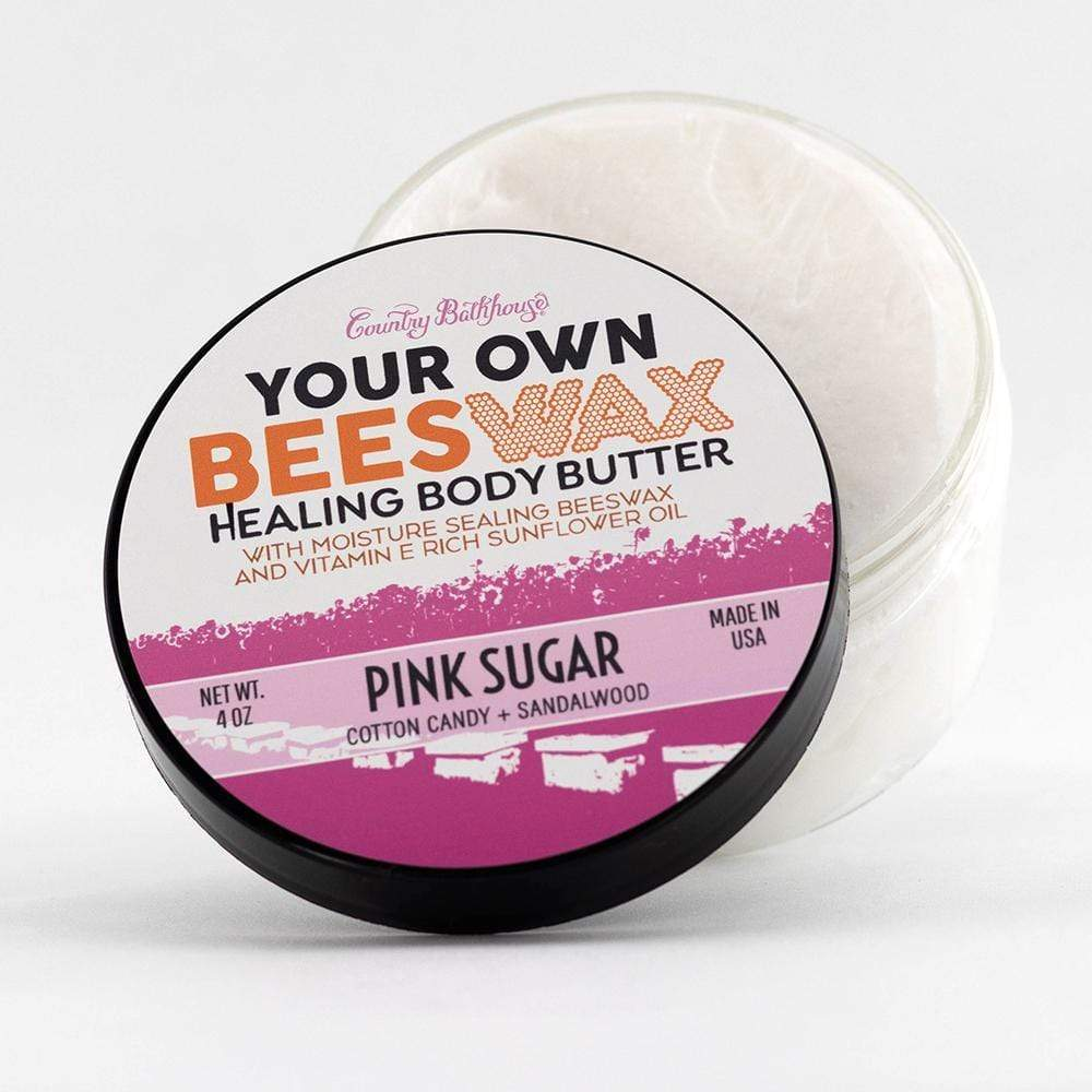 Your Own Beeswax Body Butter - Pink Sugar