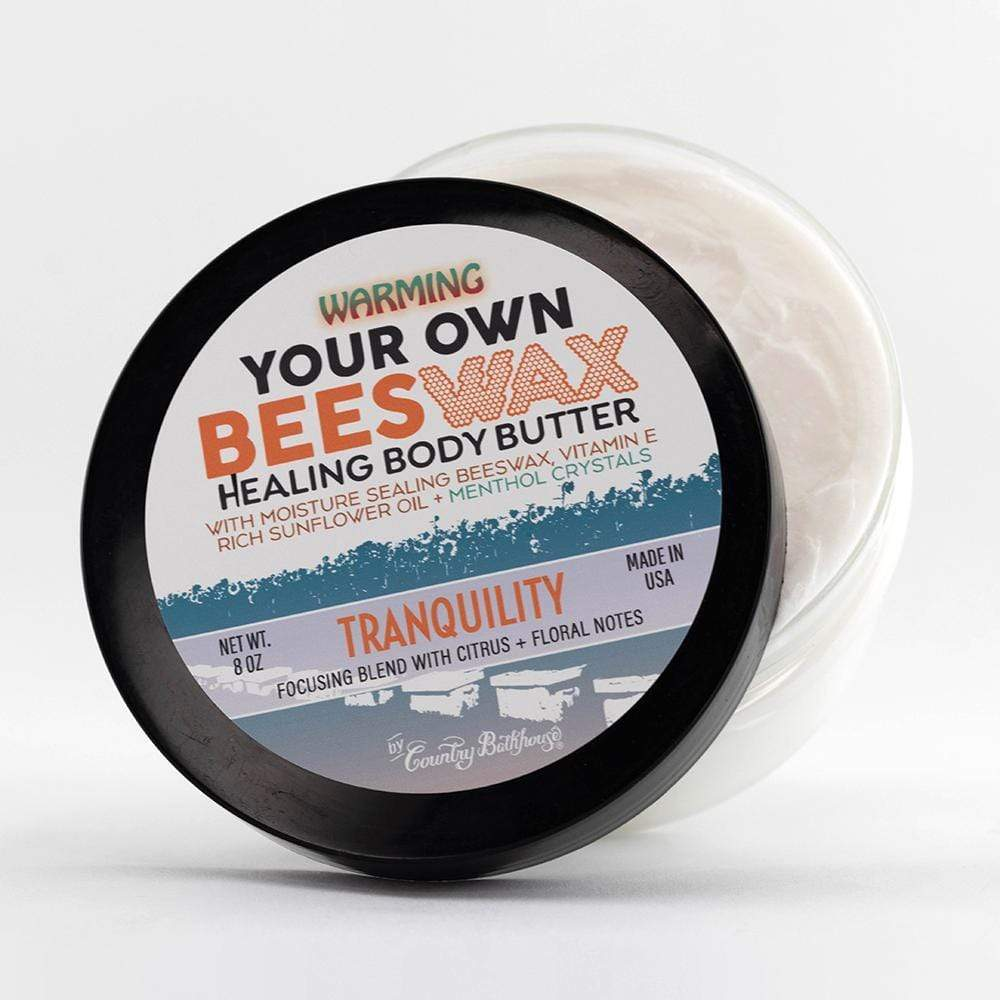 Your Own Beeswax Warming Body Butter - Tranquility