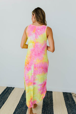 Citrus Splash Tank Dress