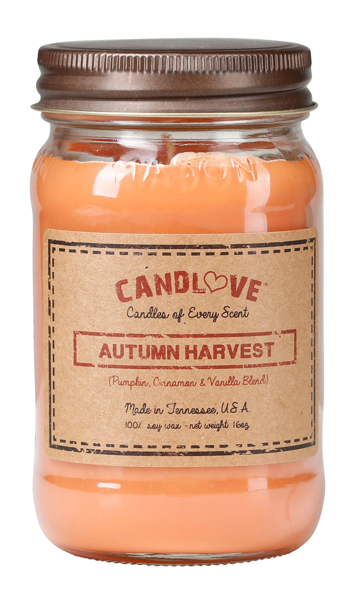 Soy Wax Scented Candle - Autumn Harvest