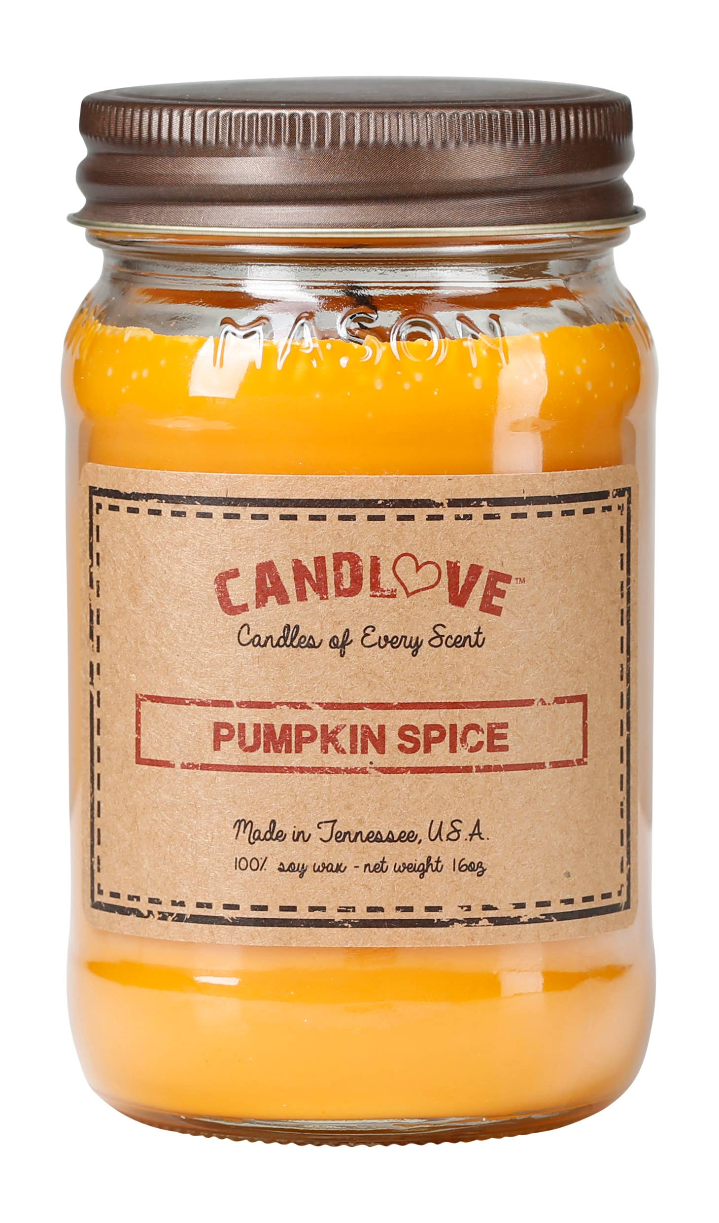 Soy Wax Scented Candle - Pumpkin Spice