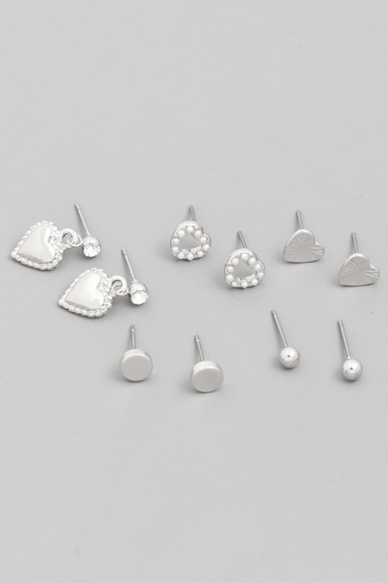 Valentine's Day Stud Earrings