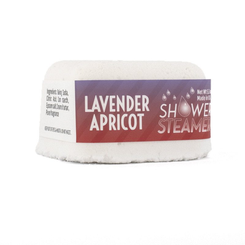 Shower Steamer - Lavender Apricot
