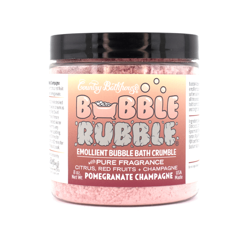 Bubble Rubble - Pomegranate Champagne