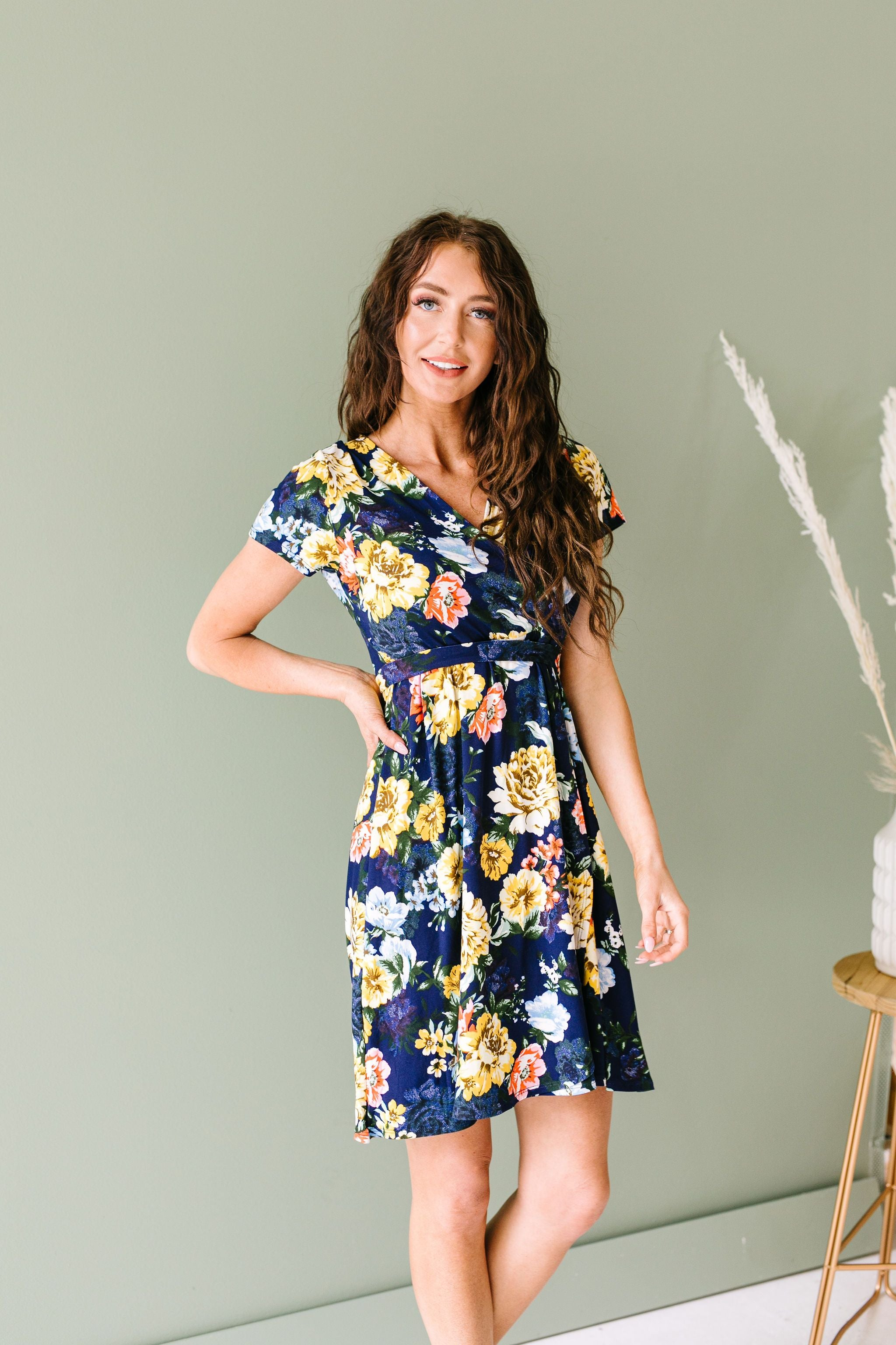 Stop & Smell The Roses Dress